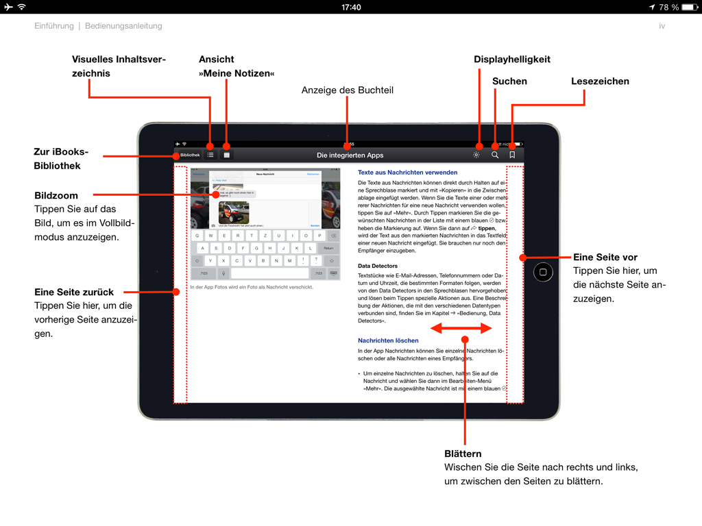 how to use ibooks on ipad mini